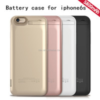 5800mAh External Battery Charger Case Power Bank Pack For Apple iPhone 6s With Kickstand