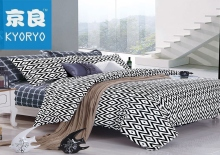 Latest design wholesale jacquard bedsheet/bed sheet/bedding set