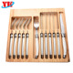 High quality 12 pcs laguiole cutlery set fork and knife with ABS handle