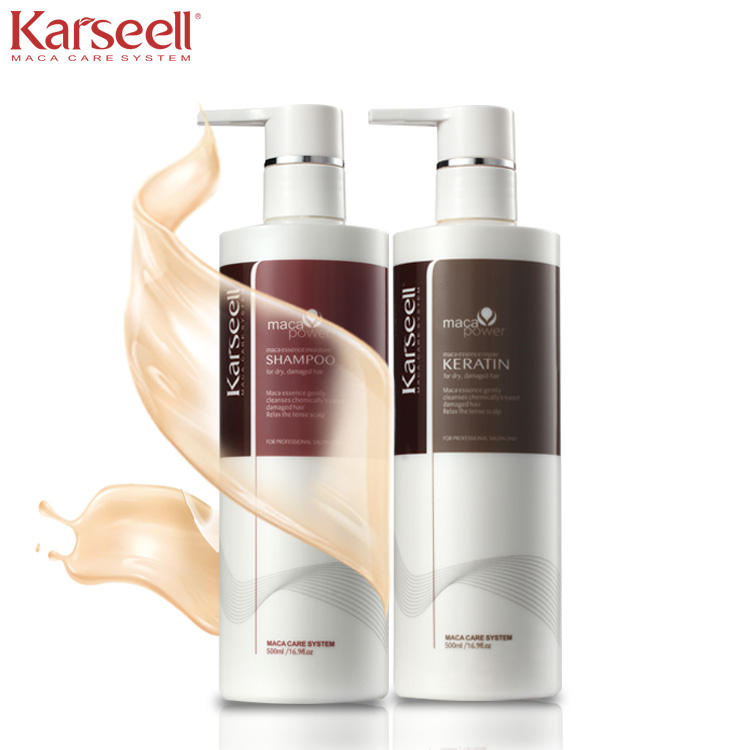 Sulfate-Free Nourishing Hair Building Fibers Collagen oil for hair treatment
