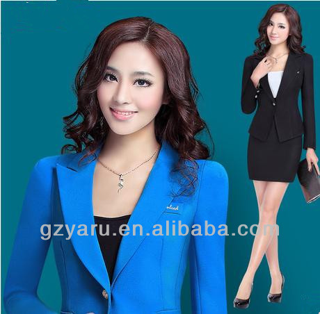 Pictures of Office Uniforms / Womens Office Suits