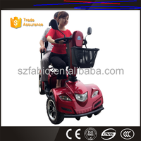 High Quality FABIO Price 110cc 3 wheel disabled mobility scooter
