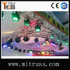 Aluminum circle stage lighting truss aluminum lighting frames