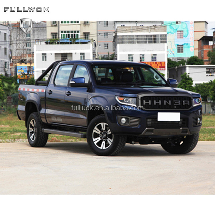 2018 High Quality Luxury Double Cabin Pickup Truck 4WD with petrol 4K2T engine S19