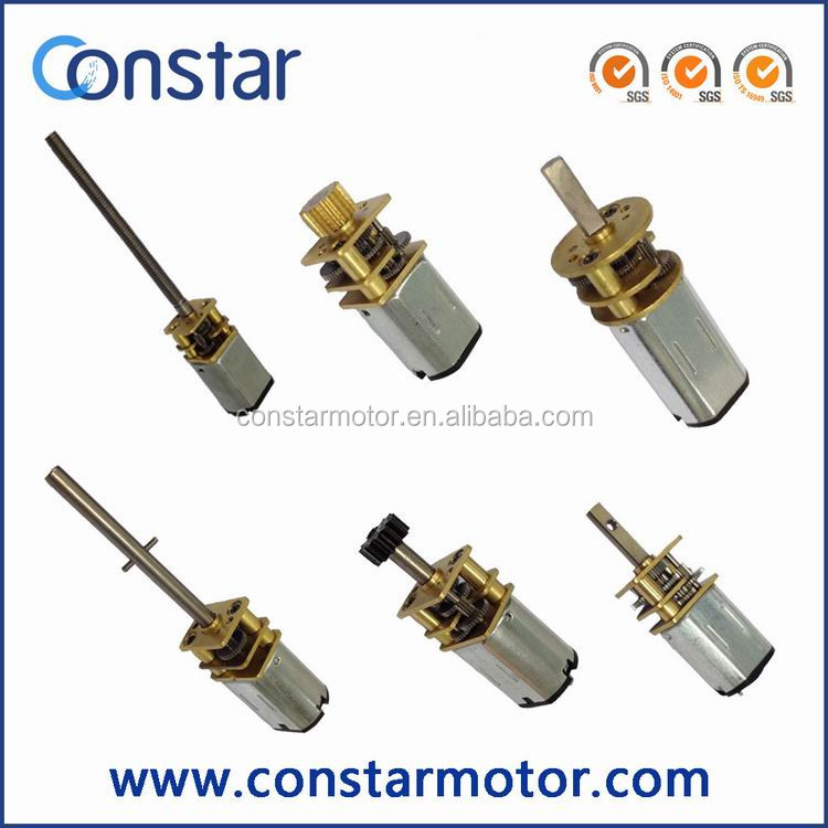 12mm 6V Electric Dc Precision Gearmotor With Spur Gearbox