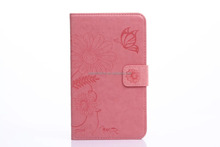wholesale wallet Leather Case for samsung GALAXY Tab 4 T230