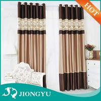 Wholesale Competitive price Luxury Blackout Jacquard home textile curtain