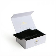 Luxury gift box with foam inserts for ceramic tableware packaging