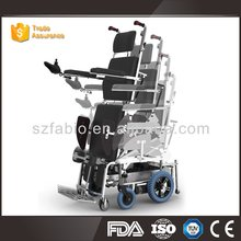 Heavy loading weight aluminum alloy electric connecting stair climbing wheelchair