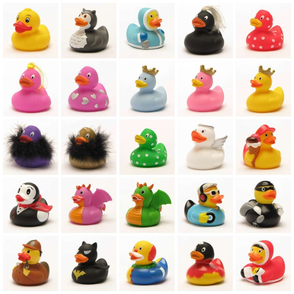 Promotional Cheap Christmas Rubber Duck Custom Vinyl