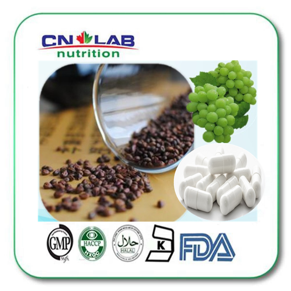 Grape seed extract Capsules for nutrition supplements