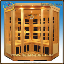 Poluplar wooden carbon heater 3 person abachi sauna wood