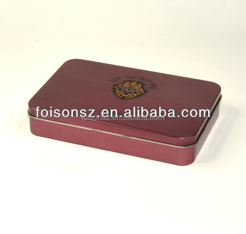 cigarettes metal box