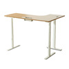 Popular China L Feet Height Adjustable Desk L-Shaped Corner Sit Stand Electric Height Adjustable Desk