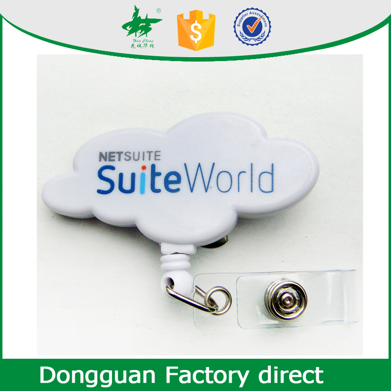 Wholesale high quality cheap animal shape retractable badge reels