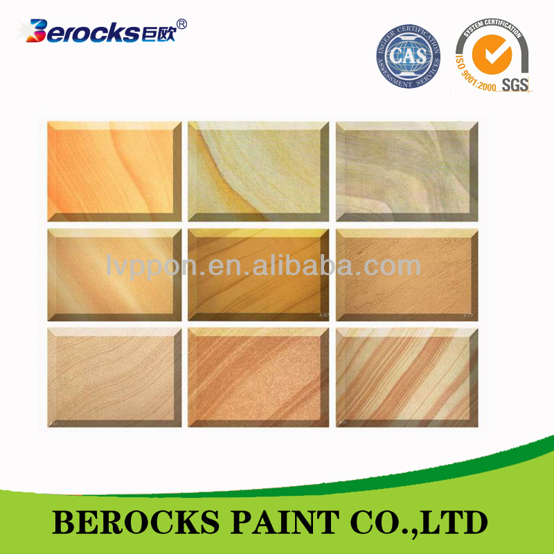 abstract textured acrylic paint for exterior wall/exterior wall paint