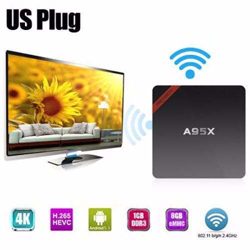 Nexbox A95X Amlogic S905X quad core Android 5.1 2g/16g Kodi 16.0 HD TV BOX