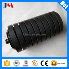 Dustproof sleeve(comb) roller conveyor idler rubber ring conveyor roller