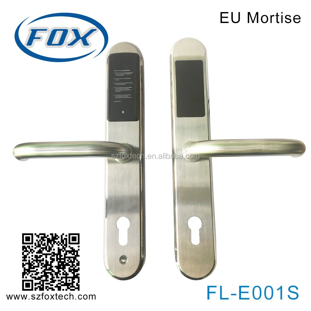OEM Euro style mortise door lock and handle stainless steel lock
