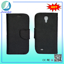 Smooth wholesale wallet leather case replacement back cover for samsung galaxy s4 mini