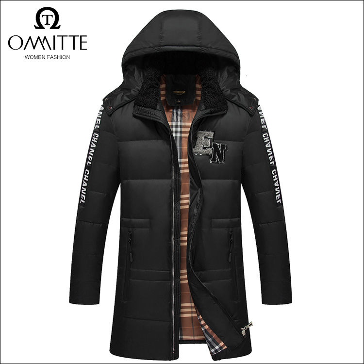 High quality garment mamufacturer men coat Discount casual simple design winter snow down jacket