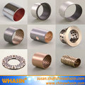 PTFE Bearing POM Bushing Bimetal Thrust Washer Bronze Copper Brass Steel Washers Oiless Dry Slide Bushing DU/DX Washer Bush