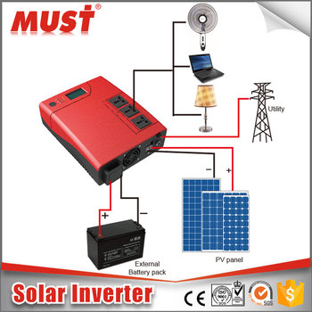 modified sine wave solar inverter ups 1200va 2400va 12vdc 24vdc