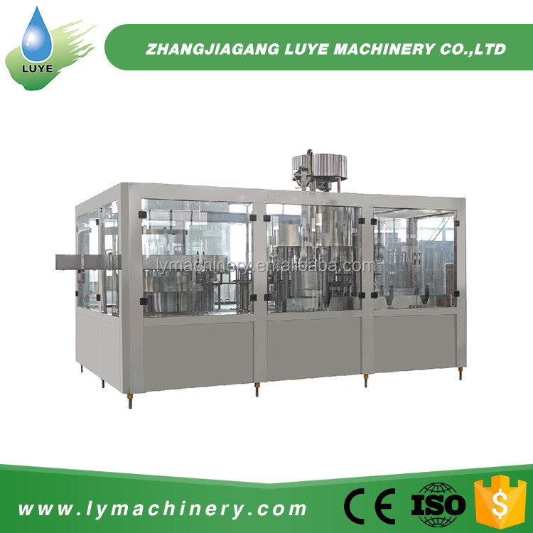 2016 New Customized Tea Complete Bottled Water Manufacturing Equipment
