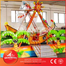 Cheap price for kiddy amusement rides ! indoor carnival equipment small pirate ship for sale