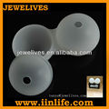 Shenzhen Silicone double ball sphere ice molds Manufacturer