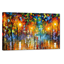 Lovers Paint Abstract Art Oil Painting on Canvas