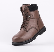 SJ NO.6323 military boots,soilders outdoor safety shoes,high cut, buffalo leather upper, pu injection outsole,IAF CNAS ISO9001