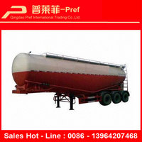 China Professional Trailer Manufacturer 3 Axle Semi Trailer 50 CBM 55 CBM 60 CBM Bulk Cement Trailer for Sale