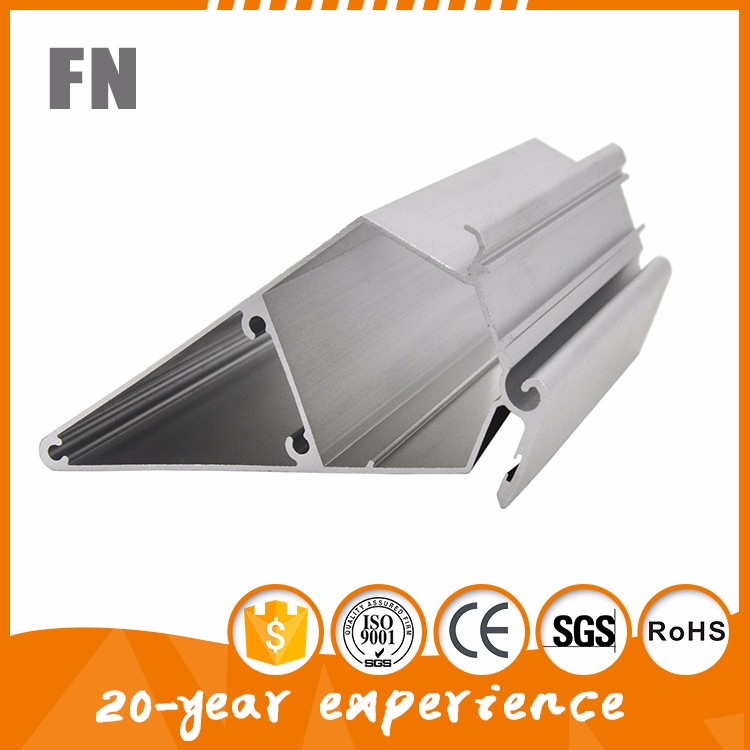 China triangle Industrial aluminum profiles to make doors and windows , extruded aluminum profiles prices