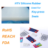 Good Price HTV Silicone Rubber with RoHS, REACH, FDA