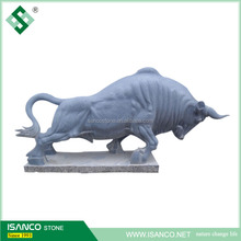 natural stone decorative bull sculpture large animal statues