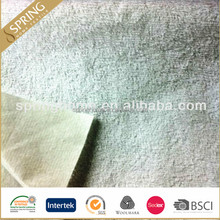 waterproof breathable terry cloth laminated fabric for mattress protector