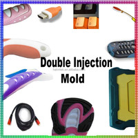 Double Materials Color Injection Molding ODM