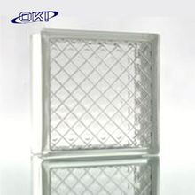 exterior building glass block walls with competitive price