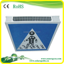 Outdoor solar traffic LED sign lighting made in china waterproof solar traffic sign