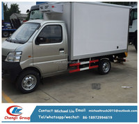 small Tons refrigerator truck/freezer truck/refrigerator car van for sale