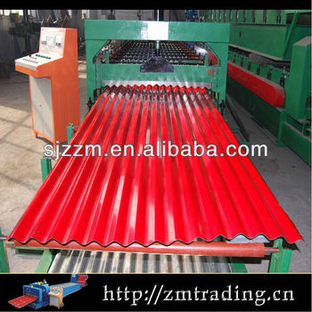 steel roofing sheet making machine