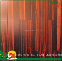 Natural Color Multilayer Ebony Engineered timber Flooring good Price