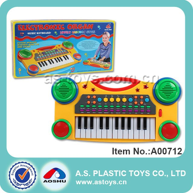 Toy baby plastic music electronic organ