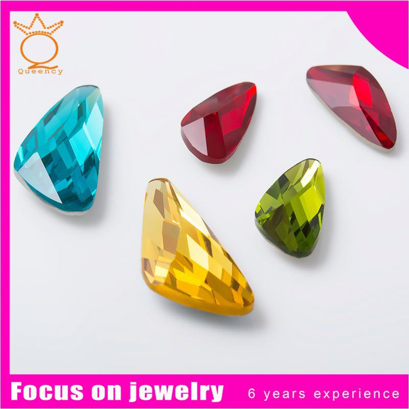 Long life time high tech foil gemstone crystal stone for chandelier stock beads