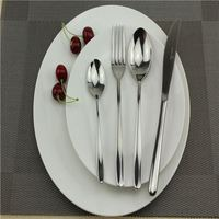Stainless Steel Cutlery Chopsticks Spoon Fork Set cutlery with decorative pattern handle