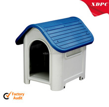 cute red blue small Plastic pet kennel/dog house