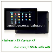 most popular 7 inch tablet pc very cheap with USB2.0 port