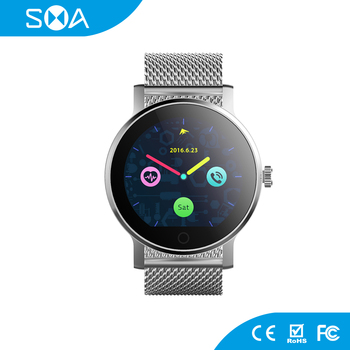 Bluetooth V4.0 with Phone Call Real-time ECG Analysis Smart Watch With Heart Rate Monitor