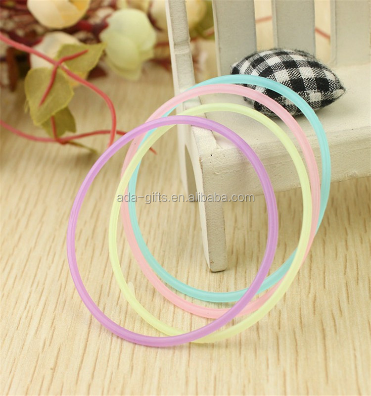 colorful silicone rubber band